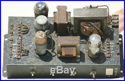 POWER TUBE amplifier SIEMENS ELA 400 V 40A TELEFUNKEN 1940's VINTAGE MONO STEREO