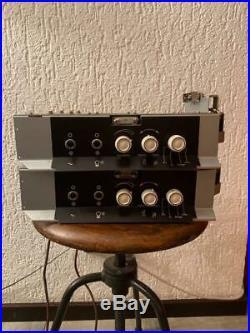Pair SIEMENS Klangfilm Tube amplifier Smf verst. 4b EL84 vintage audio amps