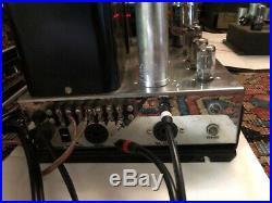 Pair Vintage Mcintosh Mc60 Tube Amplifiers Work