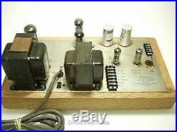 Pair of Vintage Altec 1568 Mono Tube Amplifiers / Peerless / EL34 6CG7 - KT#2