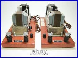 Pair of Vintage Ampex Tube Monoblock Amplifiers / 6973 mod to 6BQ5 - KT