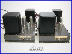 Pair of Vintage Heathkit A-9 Tube Amplifiers / 5881 KT1