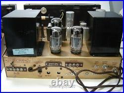 Pair of Vintage Pilot HF-56 Mono Tube Receivers KT