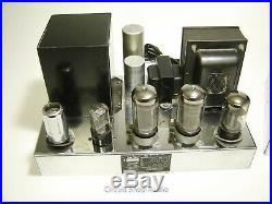 Pair of Vintage Radio Craftsmen 500 Tube Amplifiers / Western Electric - KT