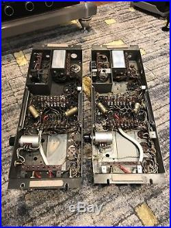 Pair of Western Electric 124B Vintage Tube Amplifier Good Condition Working