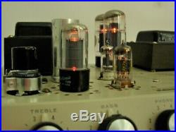 Pathfinder by NEWCOMB E-75 vintage tube amplifier amp 75 Watts output! Works