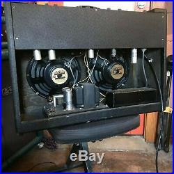 RARE Vintage Harmony H430 Tube Combo Amp ORIGINAL JENSEN Speakers VALCO