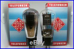 RE604 PAIR LK460 VALVO TELEFUNKEN VACUUM TUBE AMP STEREO VINTAGE MONO PLATE 30's