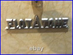 Rare 1948 Flot-A-Tone Vintage Guitar Tube Amp Harp Accordion Amplifier