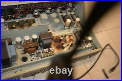 Rare 1950's vintage tubed Gates Studioette Studio mic mixer Console tube amp NR