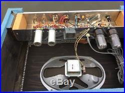 Rare 60s Vintage Supro 16T Valco Trinidad Blue Tube Amplifier Nice Original Amp