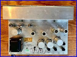 Rare Vintage HH Scott Stereomaster Type 130 Stereo Tube Amplifier