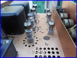 Rare Vintage Olson Hi-fi Tube Amplifier Sterophonic Model St-15 Tube 5ar4 12ax7