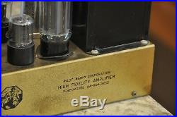 Rare Vintage Pilot AA-904 Mono Tube Amplifier