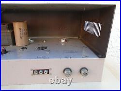 Rauland-borg Vintage Tube Amplifier Uncle-doug 110w Guitar Harmonica Keyboard Pa