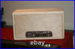 Rawcabs Filmosound 179 Custom empty solid pine head cabinet for vintage tube amp