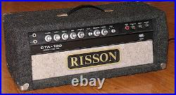 Risson CTA-120 Vintage Tube Amplifier Head. Only one Made by Bob Rissi