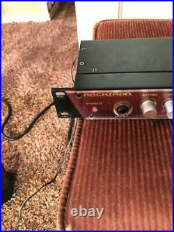 Rocktron Gainiac Tube Series Guitar Pre Amplifier Rare Vintage