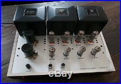 SANSUI STEREO BASIC AMPLIFIER MODEL BA-202 NOS / vintage tube amp