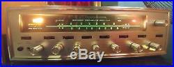 Sansui 1000A Vintage Tube Tuner Amp Amplifier Stereo Receiver AM/FM Serviced