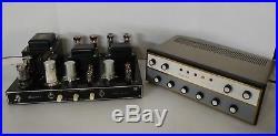 Sansui Q-3535 and SP-220 Tube Amplifier CLEAN & WORKS Super Rare Vintage -READ