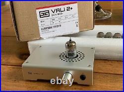 Schiit Vali 2 Plus stereo headphone amplifier 10 6dj8 vintage tubes included