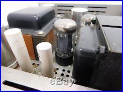 Scott Kit LK-72 Vintage HiFi Amp with Original Mullard GZ34 Tube SN 167429