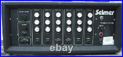 Selmer PA 100/6 S. V. PA 6 channel restored vintage valve amplifier tube amp bass
