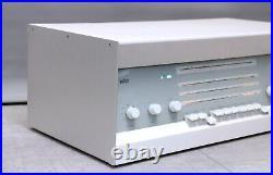 Serviced! Braun Rcs9 Dieter Rams Vintage Tube Radio Amplifier Atelier Art Deco