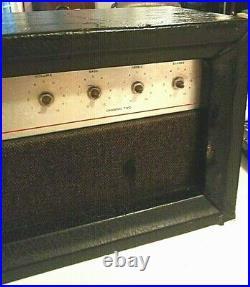Silvertone 1474 reverberation Twin Twelve Tube amp HEAD parts unit. Vintage1962