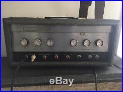 Silvertone 1483 Danelectro Vintage Tube Amp Head 23 watts