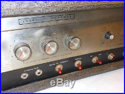 Silvertone 1483 Danelectro Vintage Tube Amp Head 23 watts Modded with Master