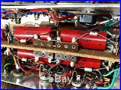 Silvertone 1485 Amplifier Vintage Piggyback Tube Amp 6 Original Jensen Speakers