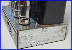 Single McIntosh 75 Vintage Tube Mono block Hi-Fi Amplifier MC75