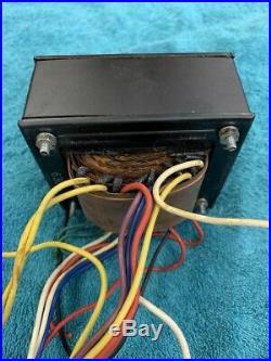 Single-ended vintage 45 tube amplifier Tamura Transformers 120 or 240 V Amp # 3