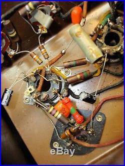 Spiegel mdl 79C Electric Guitar tube Amp Vintage