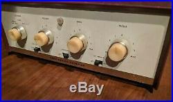 Stromberg Carlson AR-430 Series 101 Tube Amp 1959 EL84 6BQ5 Vintage Amplifier