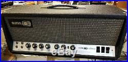 Sunn Solarus Vintage Tube Guitar Amp Head withvintage GE 6550 Tubes