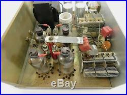 Swan 1200-W Vintage Ham Radio 6LQ6 Tube Amplifier (untested) SN Z-189609