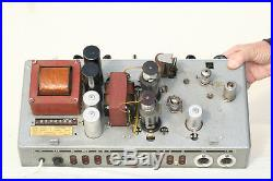 TELEFUNKEN TUBE AMPLIFIER ELA V300 EL12 SPEZIAL 1950's VINTAGE KLANG CINEMA FILM
