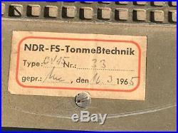 Telefunken CV692 / V69 NDR broadcast tube amplifier vintage