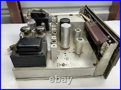 The Fisher Model 500 Receiver Mono Tube Amp Works 1950's Vintage Read
