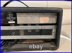 Traynor Bass Mate YBA-2A Tube Bass Guitar Amp Head Vintage 1971 El84 Version