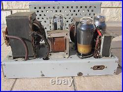Tube amplifier TELEFUNKEN CINEMA mod SEV GERMANY WW2 1940's vintage mono stereo