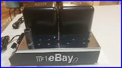 Two Vintage McIntosh MC40 Tube Amplifiers with extra tubes & tube tester