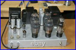 USED 1960's vintage RCA Conn stereo tube amplifier, NOT INCLUDING ALL TUBES