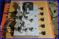 USED Emerson Dumont vintage stereo tube amplifier, including tubes