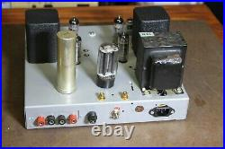 USED Zenith vintage Stereo tube amplifier model 7D31, FOR PART or FOR REPAIR