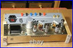 USED vintage zenith stereo tube amplifier Model 4L24, sell for part or repair