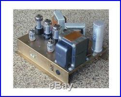 Ultra Rare Vintage Deforest-sanabria Stereo Tube Amp Amplifier Unique -look
